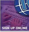 Internet Complete Online Sign-up Form
